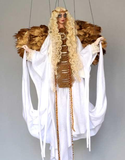 Anděl , loutka marioneta