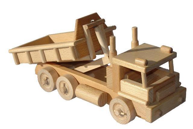 Auto , dřevěná hračka