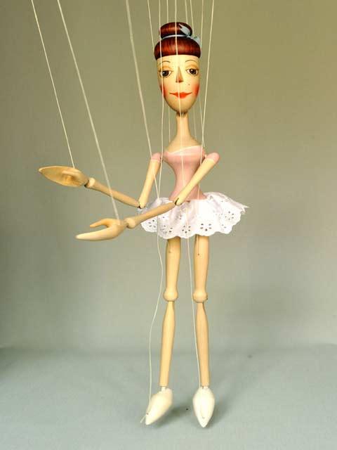 Baletka , loutka marioneta