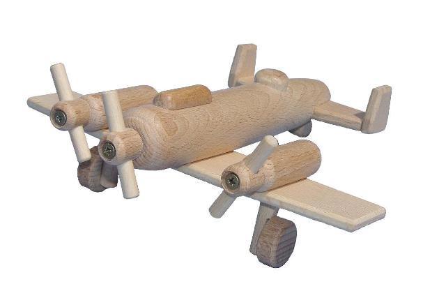 Bombardér , dřevěná hračka