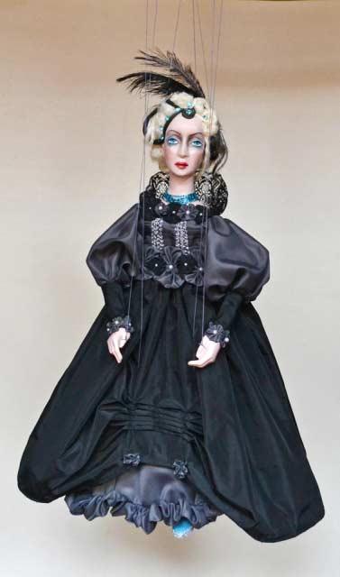 Dama , loutka marioneta