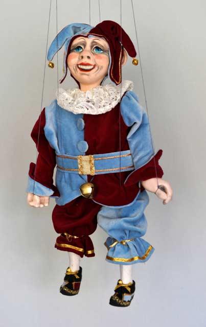 Kašpar , loutka marioneta