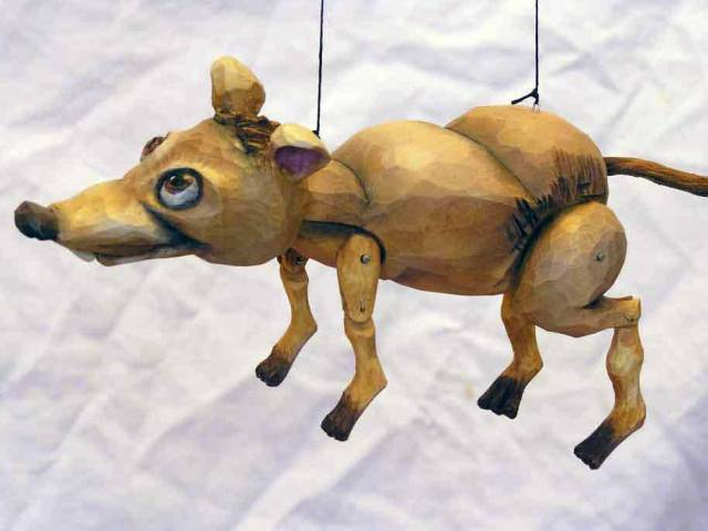 Krysa , loutka marioneta