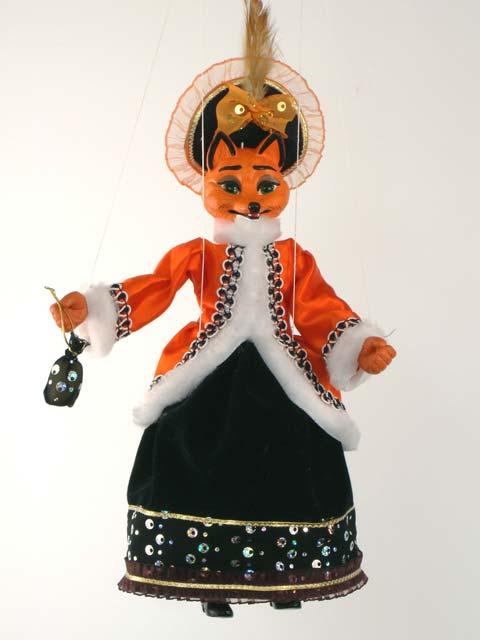 Liška , originální loutka