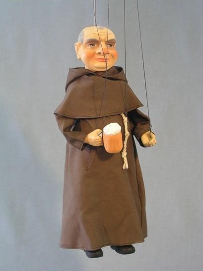 Mnich ,  loutka