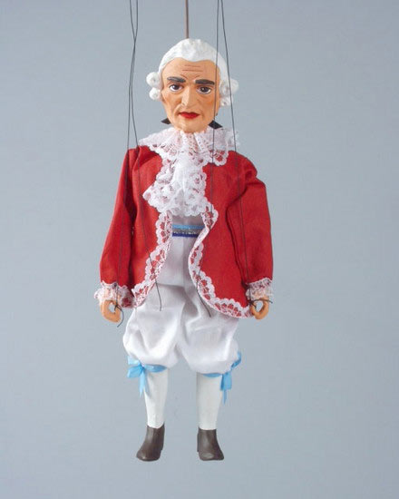 Mozart ,  loutka