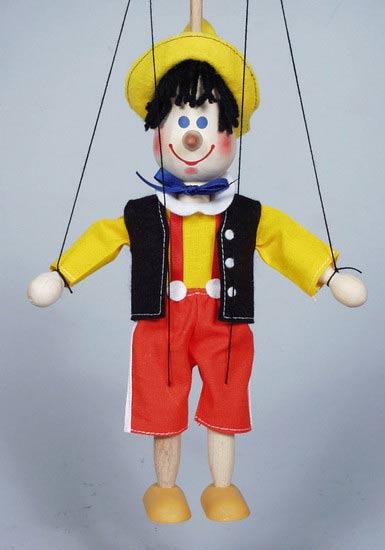 Pinokio, dřevěná loutka