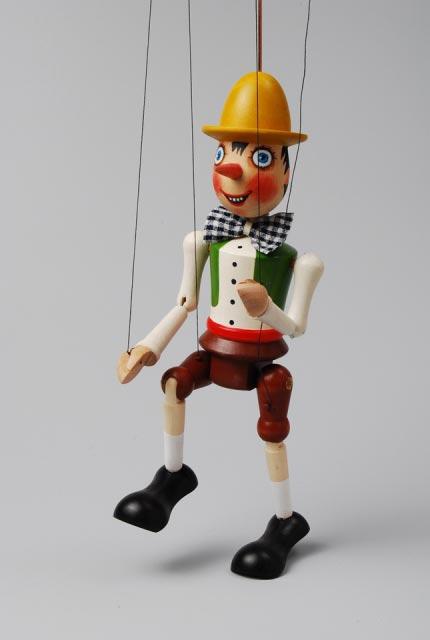 Pinokio , loutka marioneta