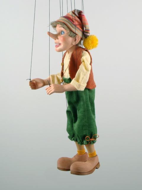 Pinokio , originální loutka