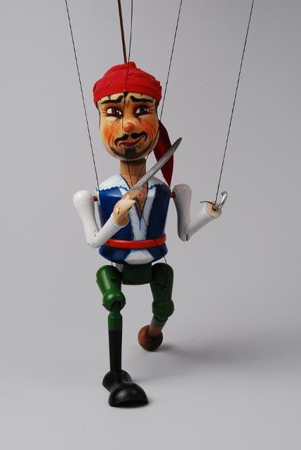 Pirát , loutka marioneta