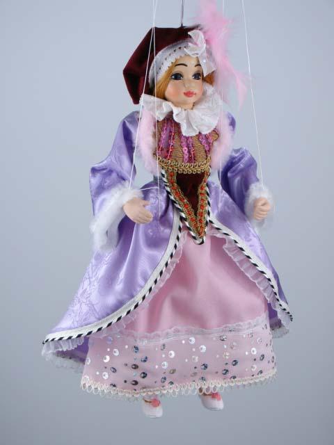 Princezna , originální loutka