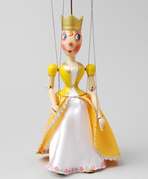 Princezna , loutka marioneta