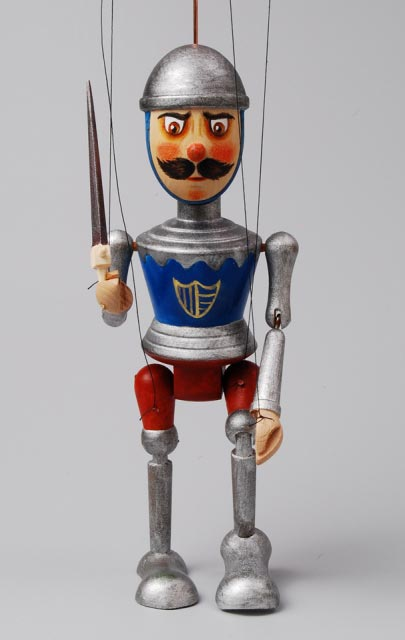Rytíř , loutka marioneta