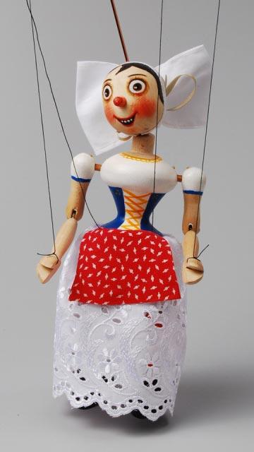 Selka , loutka marioneta