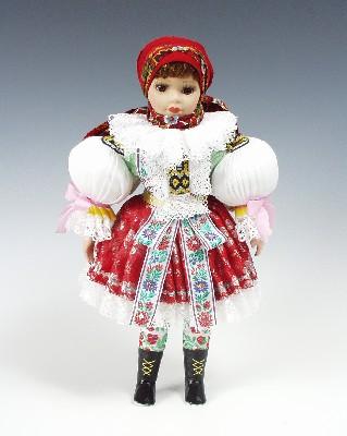 Uhersky Brod  , panenka v národní kroji