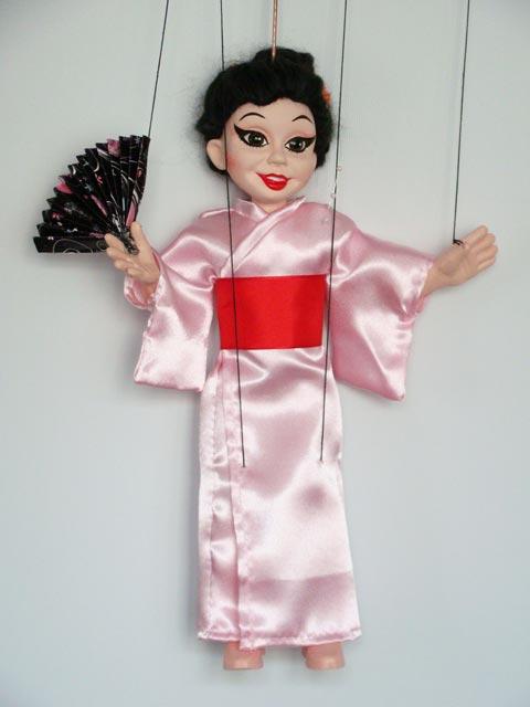 Geisha originální loutka