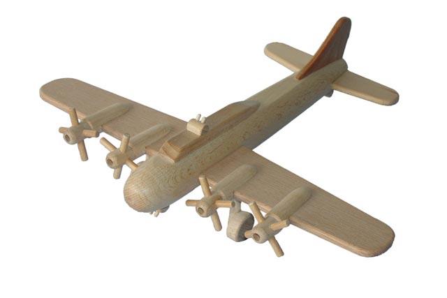 Bombardér B17 dřevěná hračka