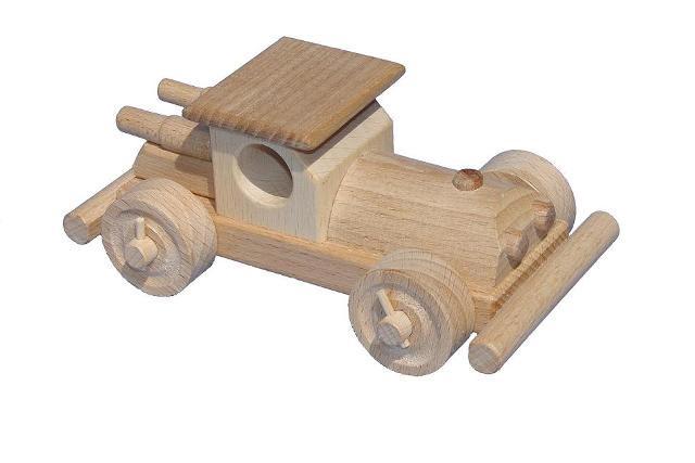 Bugina , dřevěná hračka