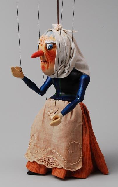 Čarodejnice loutka marioneta