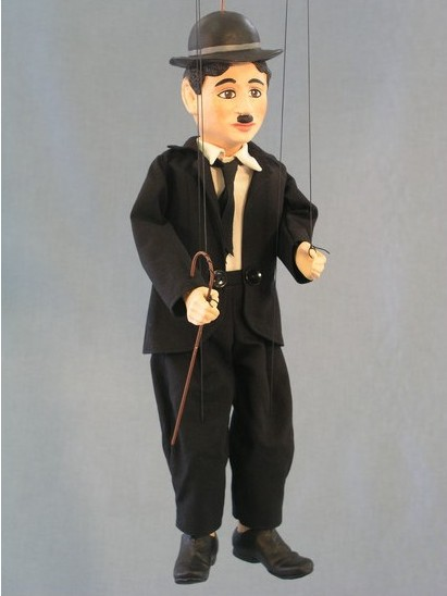 Chaplin loutka