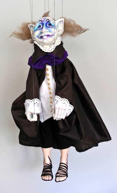 Elf loutka marioneta