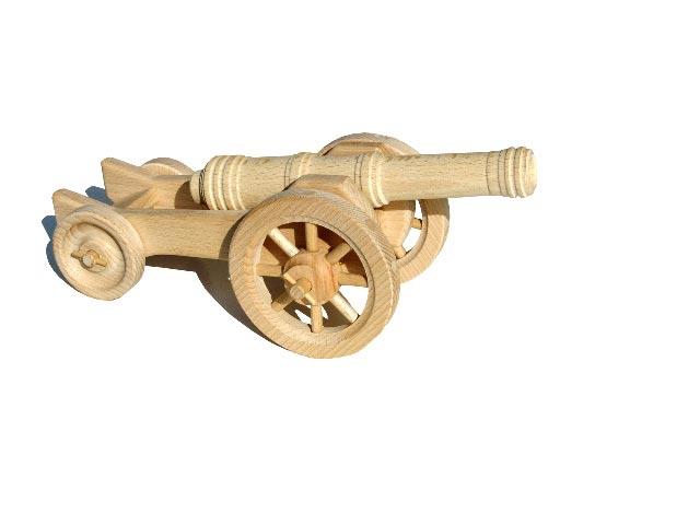 Houfnice dřevěná hračka