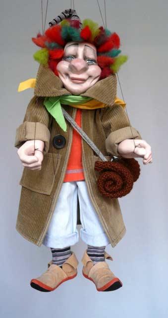 Komediant loutka marioneta