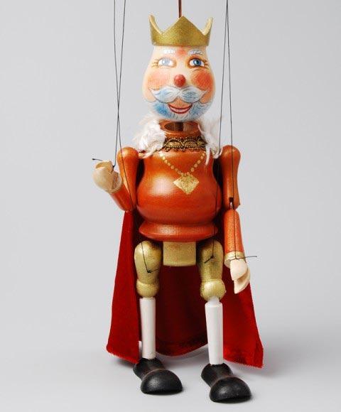 Král , loutka marioneta
