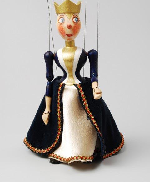 Královna , loutka marioneta
