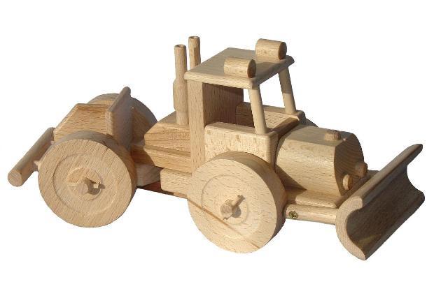 Lakatoš dřevěná hračka