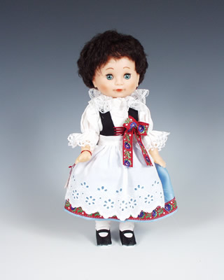 Litomyšl panenka v národním kroji