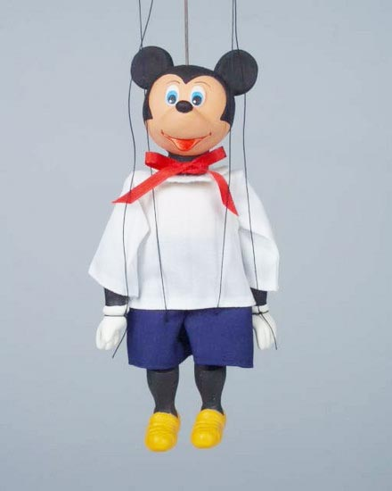 Mickey Mouse loutka