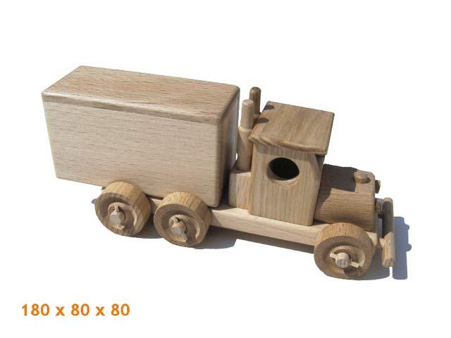 Nákladní auto dřevěná hračka