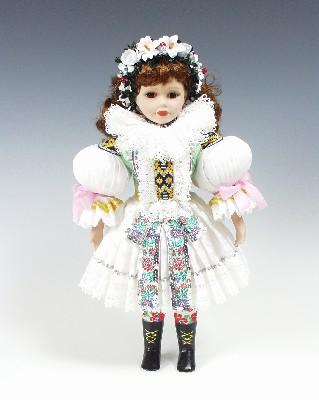 Nevěsta Uhersky brod panenka v národním kroji