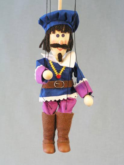 Princ dřevěná loutka