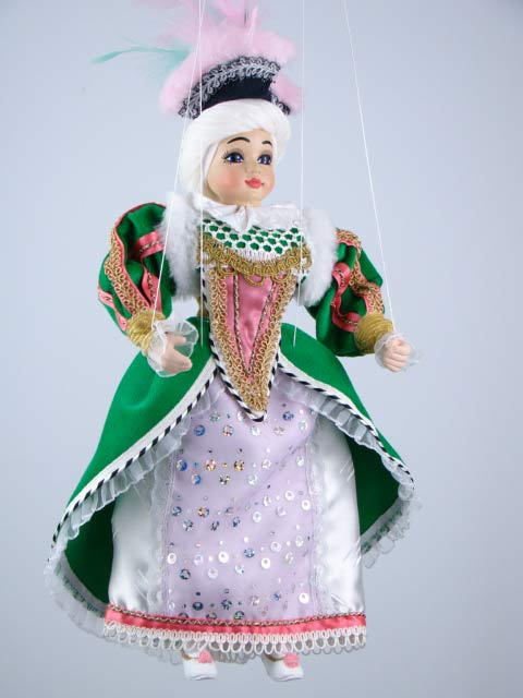 Princezna originální loutka