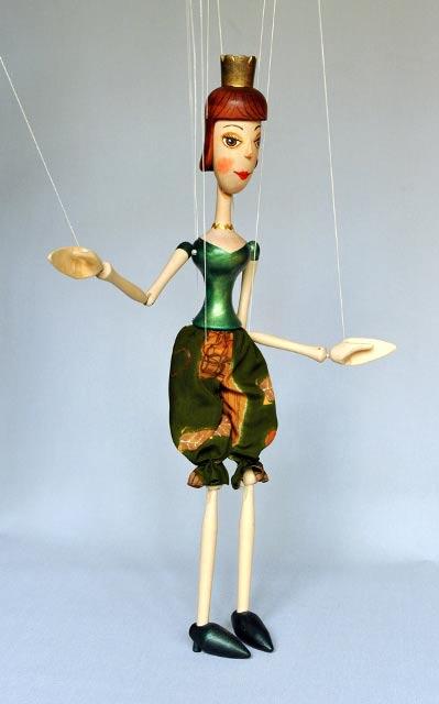 Princezna loutka marioneta