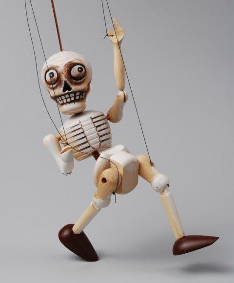 Kostra loutka marioneta