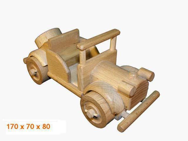 Veterán dřevěná hračka