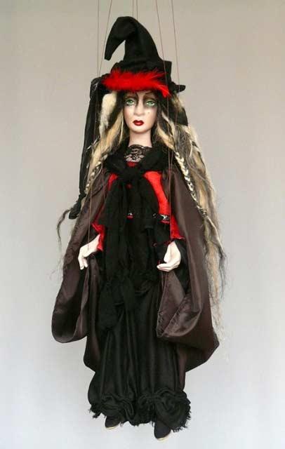 Vila loutka marioneta