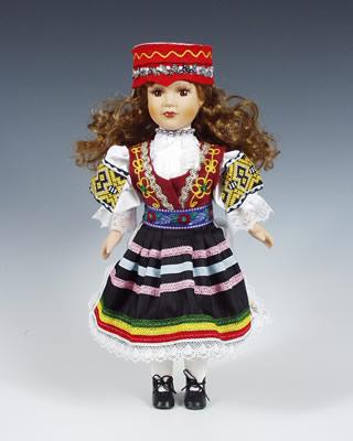 Ždiar panenka v národním kroji