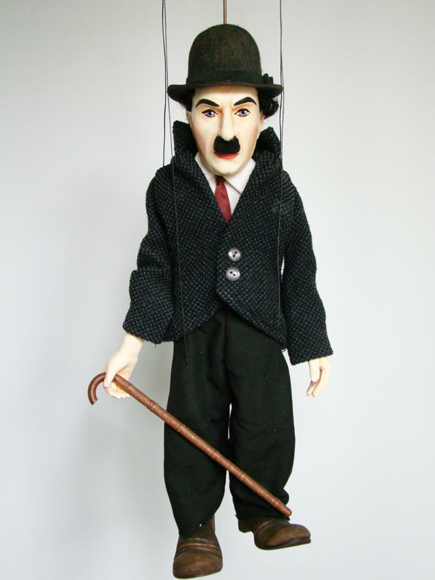 Chaplin originální loutka