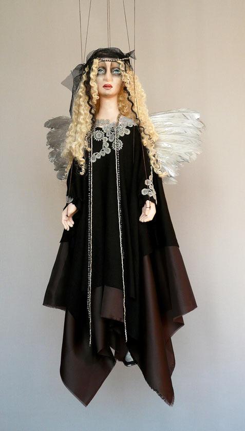 Anděl loutka marioneta