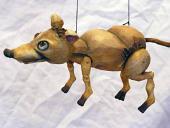 Krysa loutka marioneta