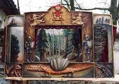 Dřevěné Loutkové divadlo