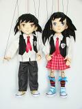 Anime studentíci originální loutky